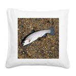 Taneycomo Rainbow Trout PS Square Canvas Pillow