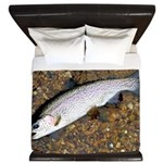 Taneycomo Rainbow Trout PS King Duvet
