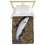 Taneycomo Rainbow Trout PS Twin Duvet