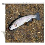 Taneycomo Rainbow Trout PS Shower Curtain