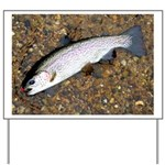 Taneycomo Rainbow Trout PS Yard Sign