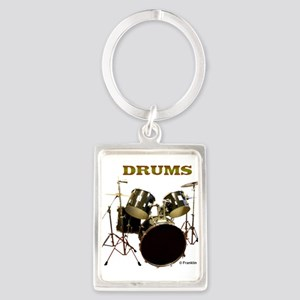 DRUMS Portrait Keychain