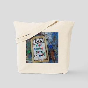 live laugh love an heal Tote Bag