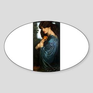 Proserpine by Rossetti Sticker