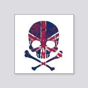 Union Jack Skull Sticker