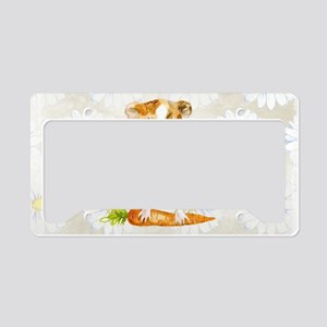 Watercolor Guinea Pig License Plate Holder