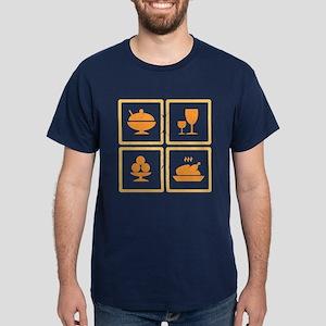 Food icons Dark T-Shirt