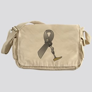 Amputee Ribbon Messenger Bag