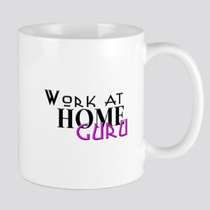 work at home guru pink Mug