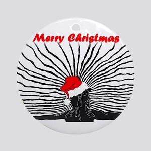Merry Christnas Ornament (Round)