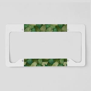 Leaf Bed License Plate Holder