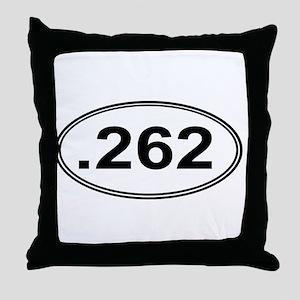 .262 Miles Throw Pillow