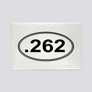 .262 Miles Rectangle Magnet