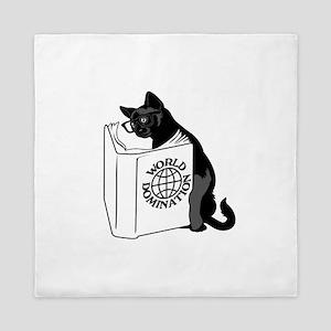 Cat World Domination Queen Duvet