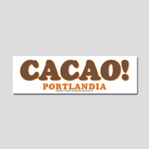 Portlandia Cacao Car Magnet 10 x 3