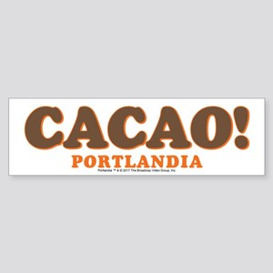 Portlandia Cacao Bumper Sticker