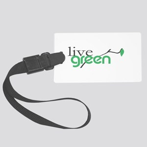 be Green 4 Luggage Tag