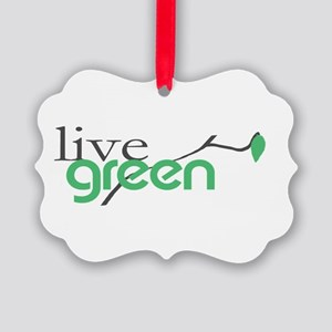 be Green 4 Ornament