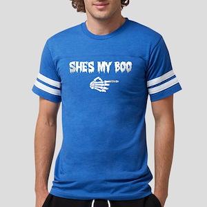 Halloween She's My Boo Mens Football Shirt