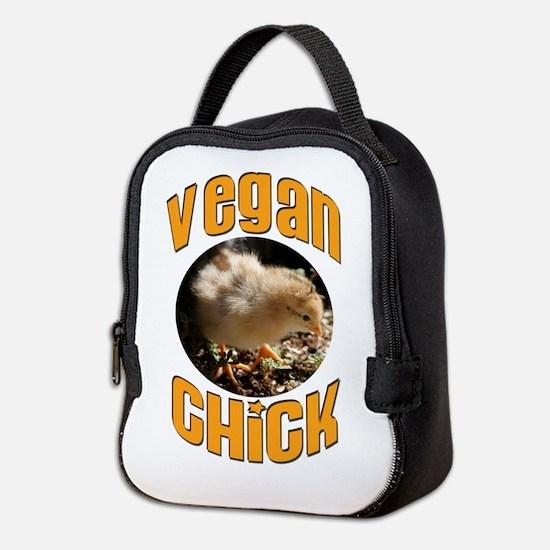 VEGAN CHICK Neoprene Lunch Bag