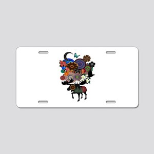 MAKE IT WHIMSICAL Aluminum License Plate