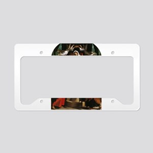 Bearing Gifts License Plate Holder