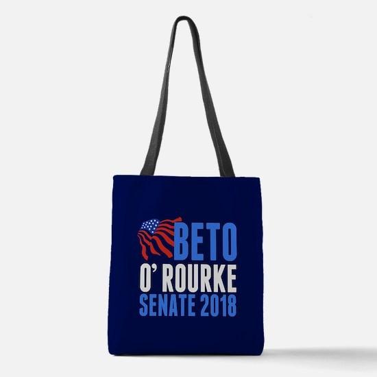 Beto O'Rourke Senate Polyester Tote Bag