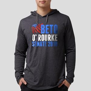 Beto O'Rourke Senate Mens Hooded Shirt