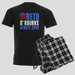 Beto O'Rourke Senate Men's Dark Pajamas