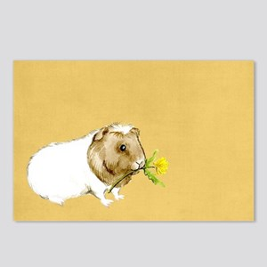 Watercolor Guinea Pig II Postcards (Package of 8)