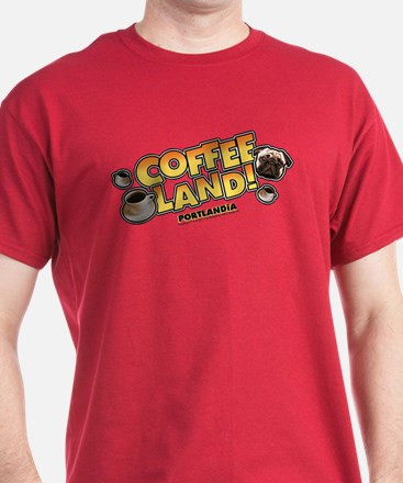 Portlandia Coffee Land T-Shirt