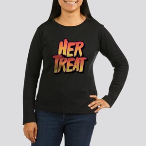 Halloween Couple Women's Long Sleeve Dark T-Shirt