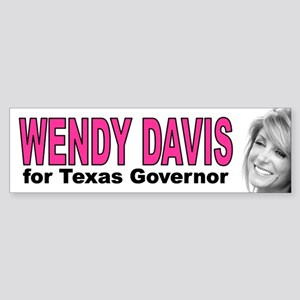 Wendy Davis Bumper Sticker