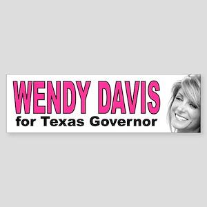 Wendy Davis Bumper Sticker
