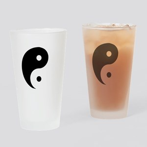 Yin Yang Drinking Glass