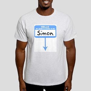 Pregnant: Simon Ash Grey T-Shirt