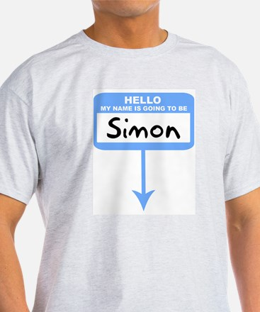 Pregnant: Simon Ash Grey T-Shirt