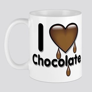 I Love Heart Chocolate Lover Mug