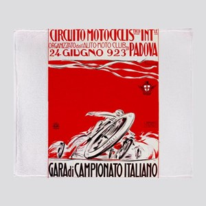 1923 Italian Championship Motorcycle Race Poster T