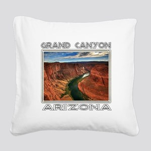 Grand Canyon, Arizona Square Canvas Pillow