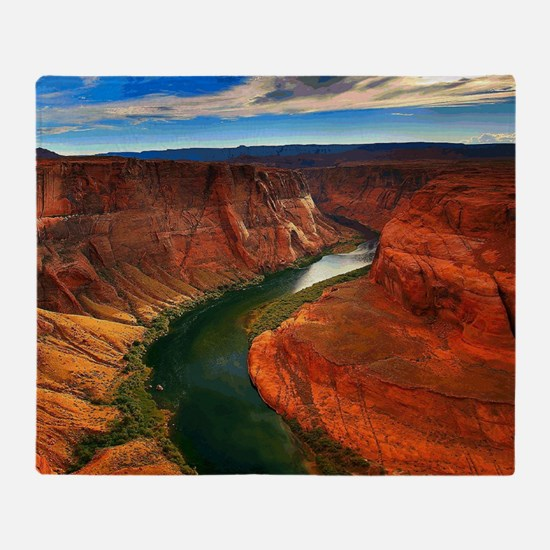 Grand Canyon, Arizona Throw Blanket