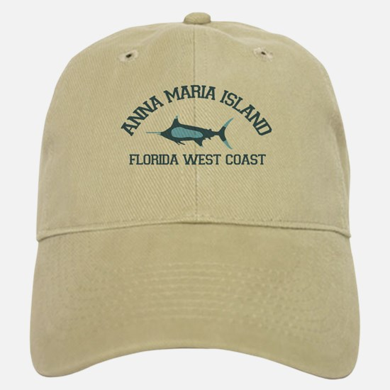 Anna Maria Island - Fishing Design. Baseball Baseball Cap