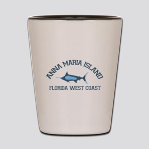 Anna Maria Island - Fishing Design. Shot Glass
