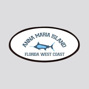 Anna Maria Island - Fishing Design. Patches