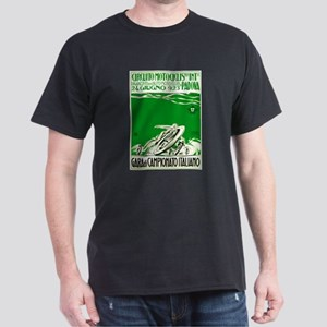 1923 Italian Motorcycle Race Poster Green T-Shirt