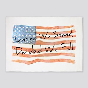 United We Stand 5'x7'Area Rug