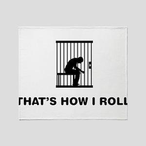 Prisoner Throw Blanket