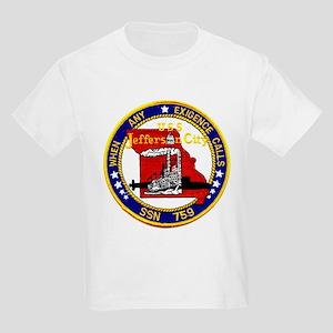 USS Jefferson City SSN 759 Kids T-Shirt