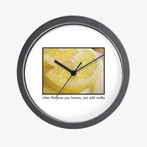 When Life Gives You Lemons, j Wall Clock