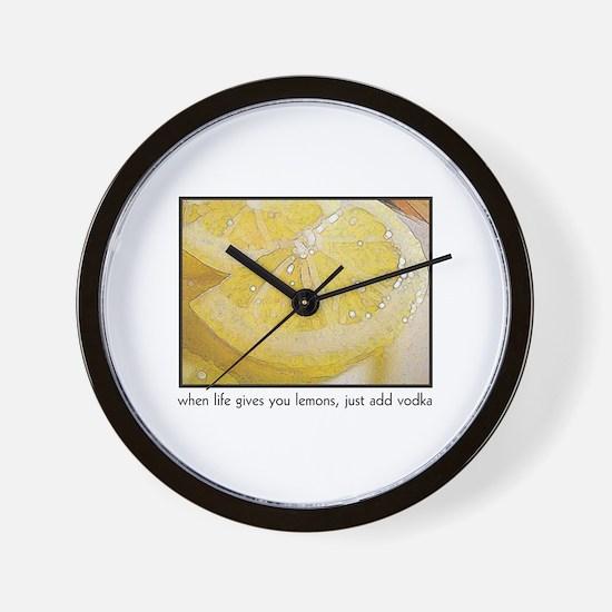 When Life Gives You Lemons, j Wall Clock